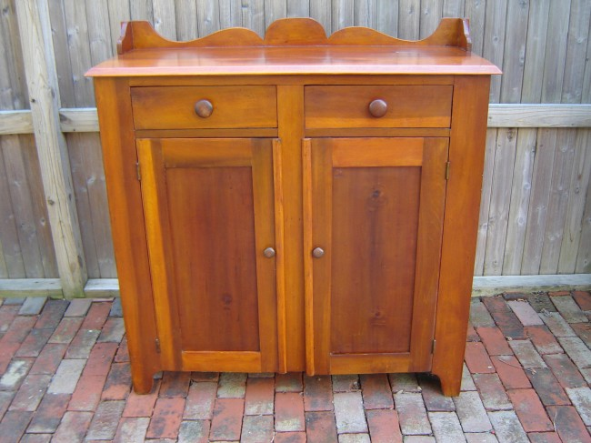 C 1880 2 drawer cabinet crow haven restorations for 1880 kitchen cabinets